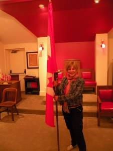 Diane Walsh in Washington DC Friendship Lodge