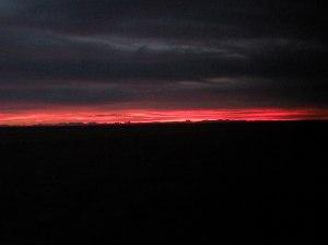 North Dakota sky