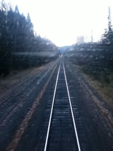 quickie pic from back of train when detached