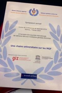 The GAFGM - Feb 2014 - Geneva Conference Pic 2