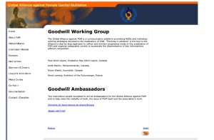 Working group - archive - GAFGM