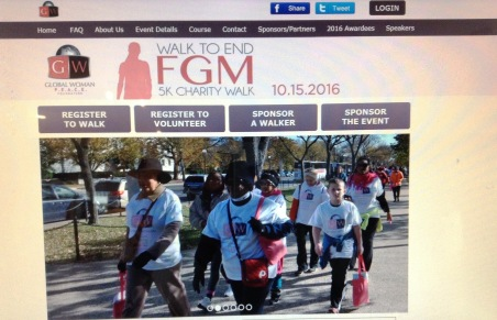 G.W.P.F END FGM Walsk - Diane Walsh at Walk